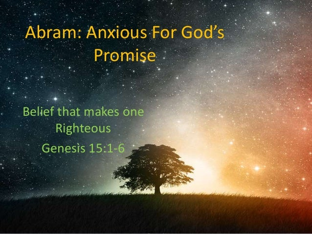 Image result for god's covenant with abraham genesis 15