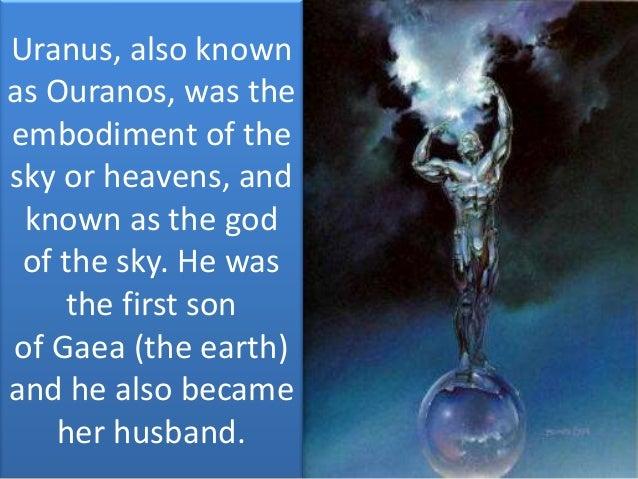 The creation (GREEK GODS)