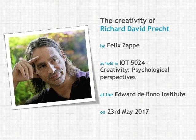 dissertation richard david precht