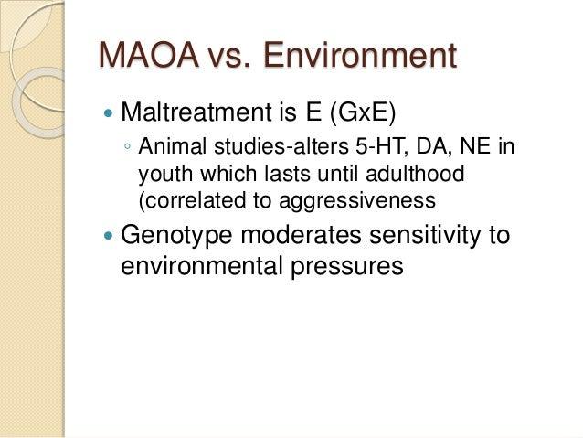 Maoa gene functional study