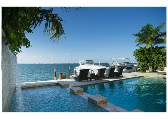 The Criscitos, Miami Luxury Real Estate Agents: Waterfront House For Sale  ...
