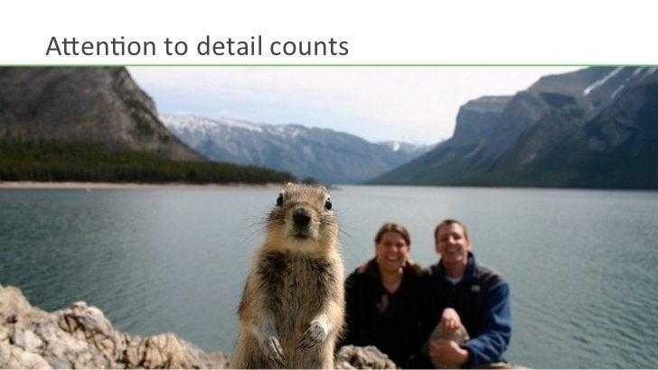 A>enHon to detail counts