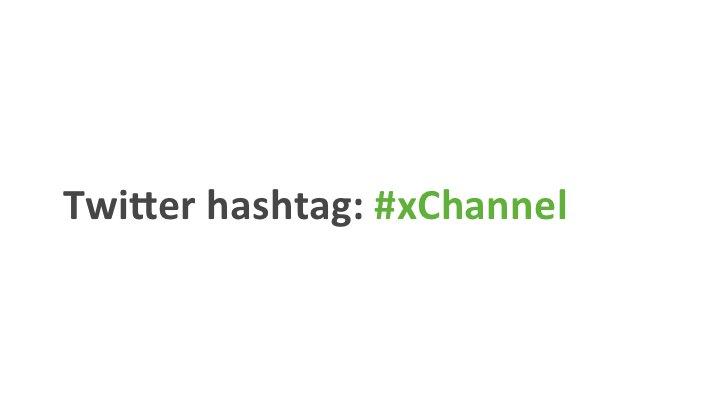 Twi9er hashtag: #xChannel