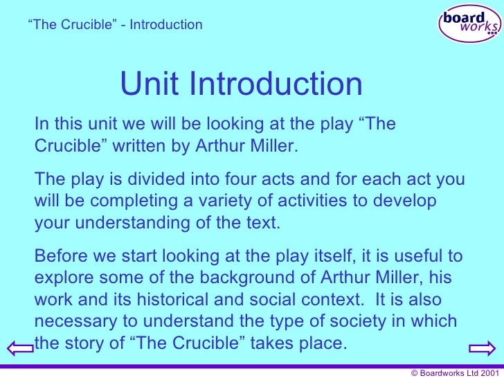 the crucible 4 essay The crucible: act 4 essay, research paper act 4: crucible its sad to see how the town is falling apart because of these trials cows are wandering loose, crops are.