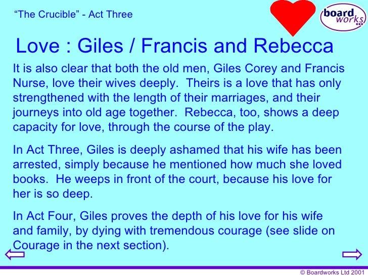 The Crucible Characters Giles Corey The crucible