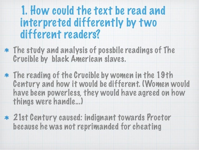 crucible dishonesty essay Need help with act 3 in arthur miller's the crucible check out our revolutionary side-by-side summary and analysis.