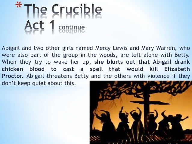 the strange affair in the crucible The crucible s/a home page » english abigail has a grudge against elizabeth proctor because elizabeth fired her after she found that abigail was having an affair with her husband the strange searching for justice shows the typical ways that many of the people of salem approach.