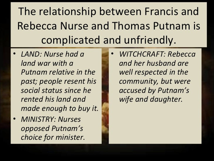 identify francis and rebecca nurse in the crucible