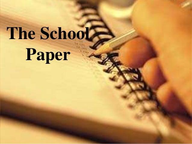 The School Paper