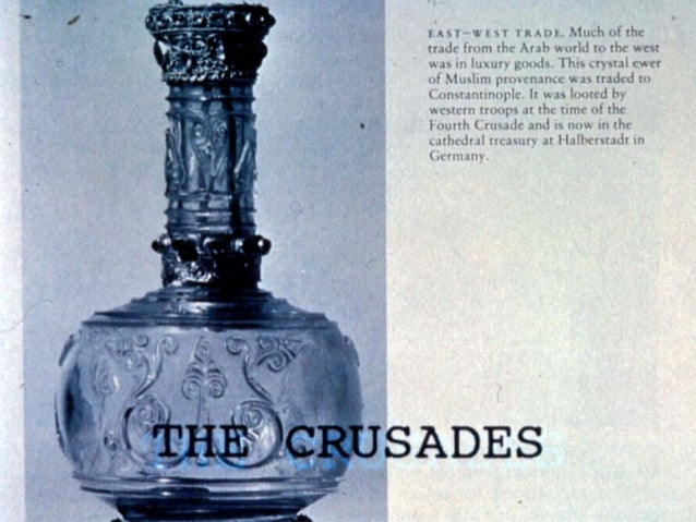 The Crusades • What are the Crusades? Crusades – military expeditions initiated by the Church to recover the Holy Lands fr...