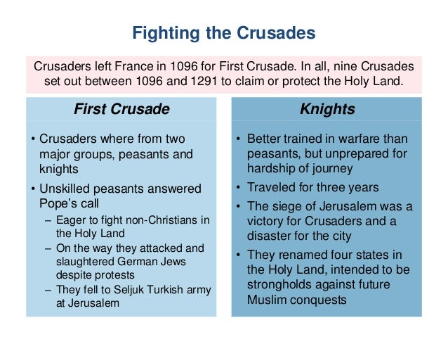who fought in the first crusade