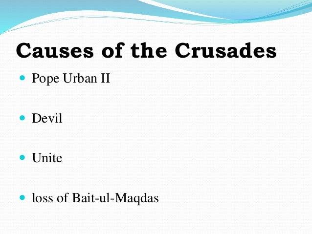 The crusade war Slide 3