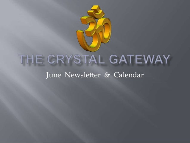 June Newsletter & Calendar