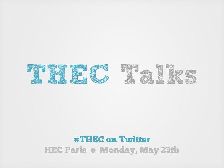 THEC Talks   