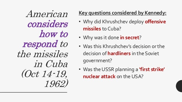 why did kennedy blockade cuba King to president kennedy, in which the civil rights leader praised kennedy's   under the kennedy administration to impose a naval blockade on cuba   apparently, he was simply convinced that the government did not deserve to be.