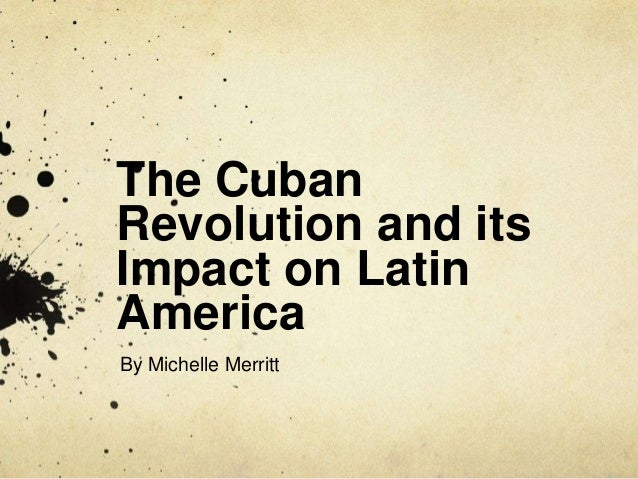 cuban revolution timeline