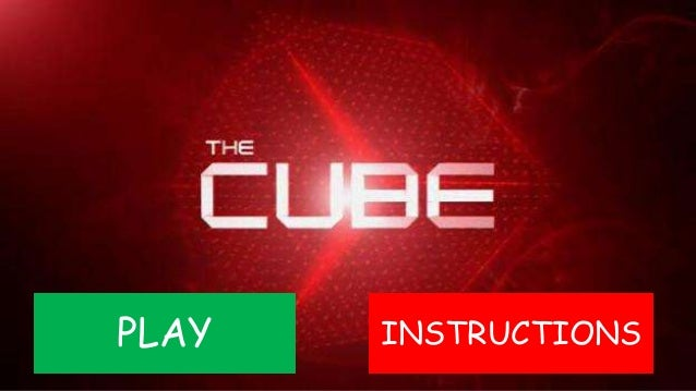 The Cube (2010, Online Game)