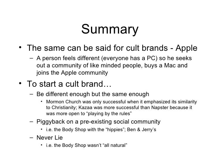The+Culting+Of+Brands Slide 3