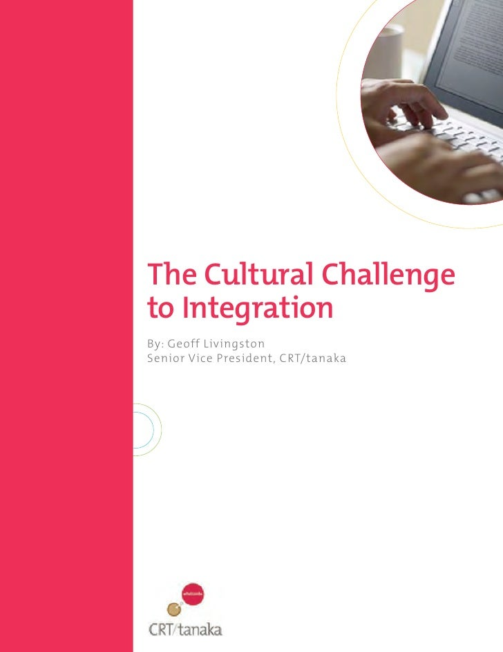 The cultural challenge_to_integration-livingston