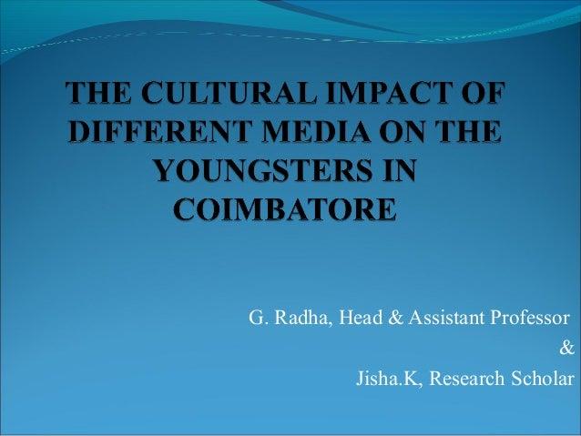 G. Radha, Head & Assistant Professor & Jisha.K, Research Scholar