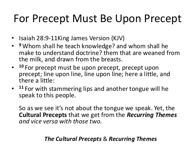 With Stammering Lips And Another Tongue Kjv