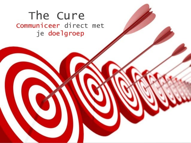 The CureCommuniceer direct met     je doelgroep