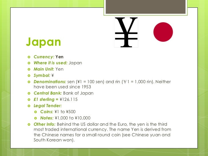 The Currencies Of Asias Leading Economies