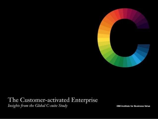 IBM Institute for Business Value! IBM Institute for Business Value!