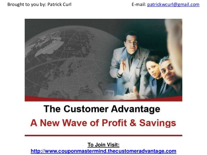 Brought to you by: Patrick Curl             			E-mail: patrickwcurl@gmail.com<br />To Join Visit:<br />http://www.couponma...