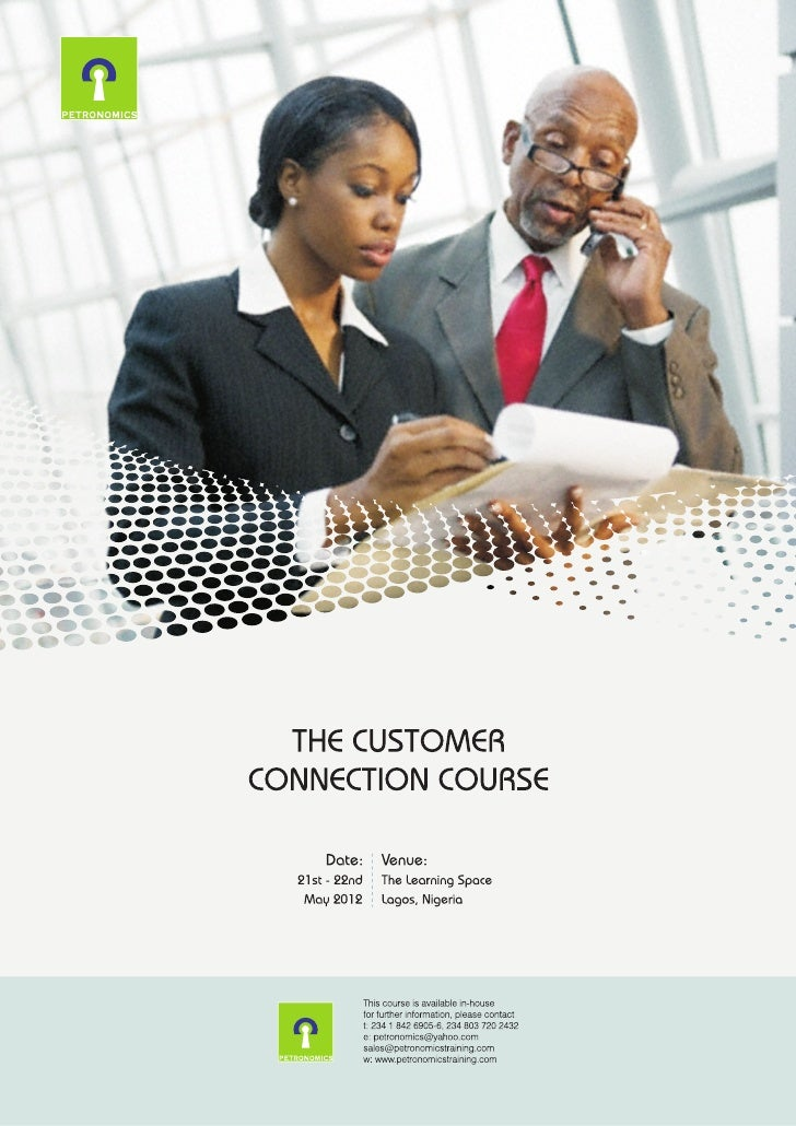 The customer connection course