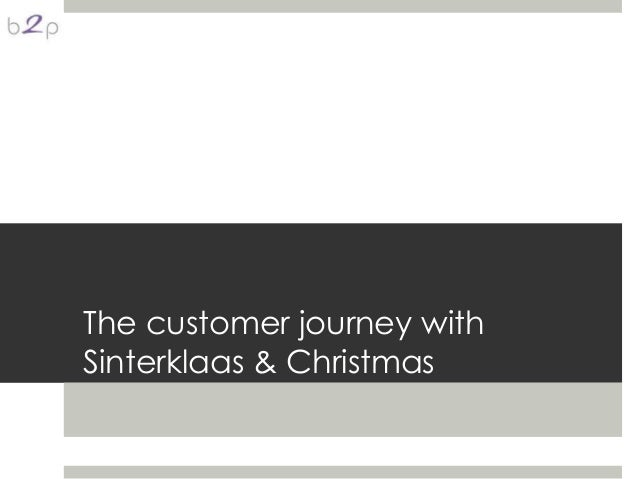 The customer journey withSinterklaas & Christmas