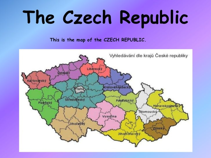 The Czech Republic<br />This is the map of the CZECH REPUBLIC.<br />