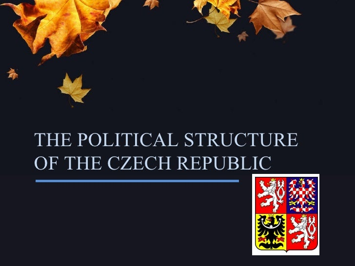 THE POLITICAL STRUCTURE OF THE CZECH REPUBLIC