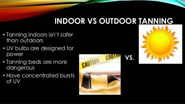 Natural Tanning Versus Tanning Beds