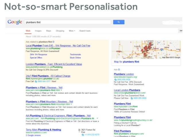 Not-so-smart Personalisation