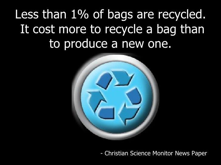 The Dangers Of Plastic Bags Slide 2