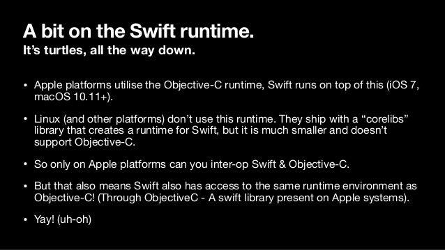 Method Swizzling with Objective-C Slide 2