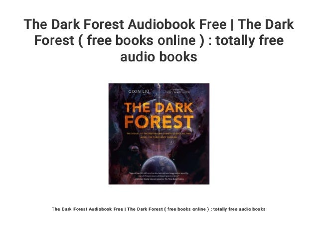 The Dark Forest Audiobook Free | The Dark Forest ( free books online …