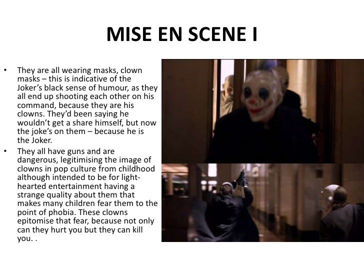 The untouchables mise en scene analysis
