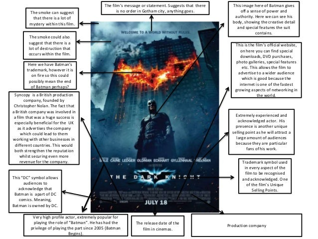 The dark knight analysis essay