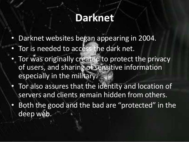 The dark web darwin de leon