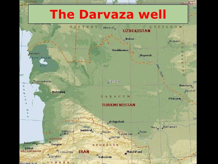 The Darvaza well