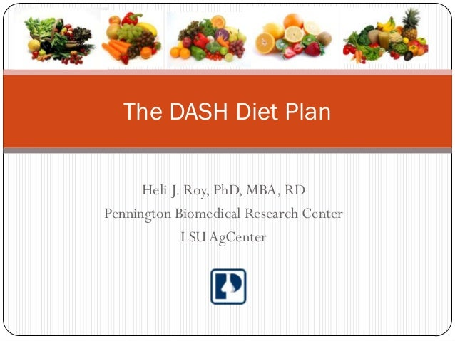 clinical guidelines for dash diet