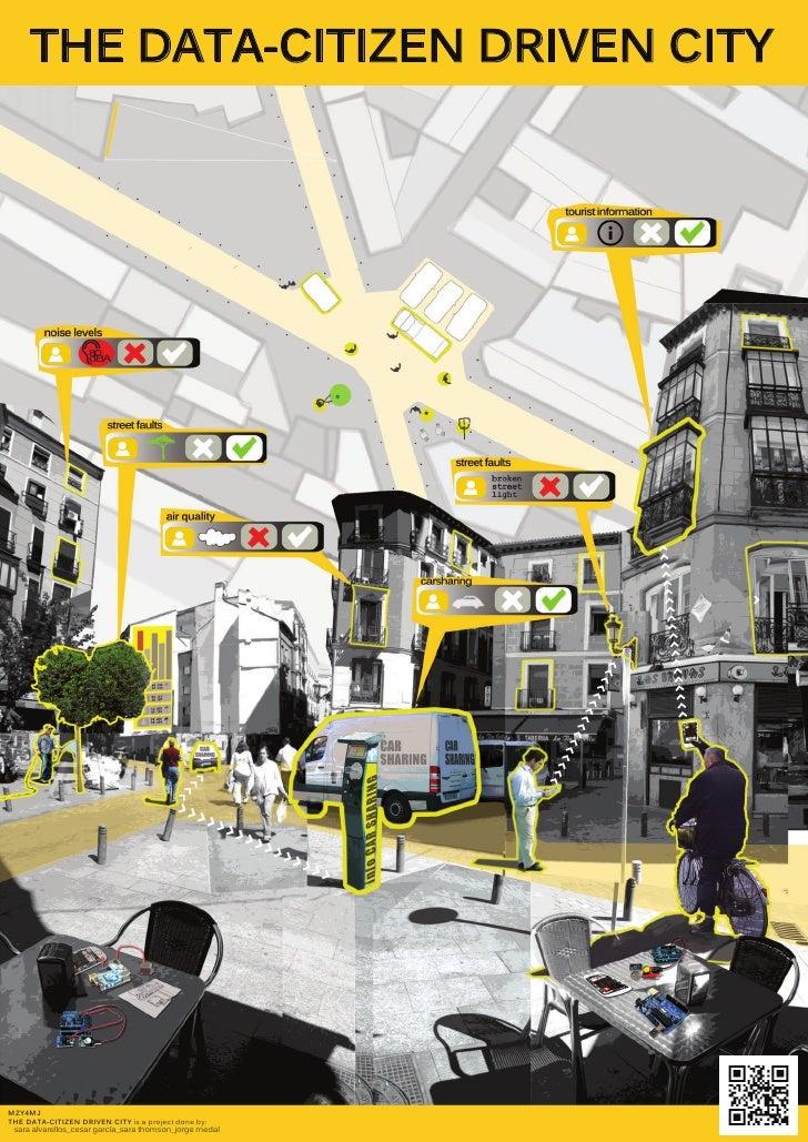 THE DATA-CITIZEN DRIVEN CITYMZY4MJTHE DATA-CITIZEN DRIVEN CITY is a project done by: sara alvarellos_cesar garcía_sara tho...