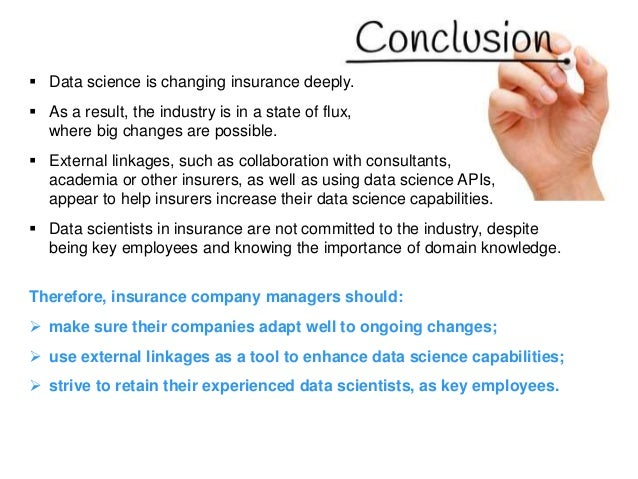 The Data Science Revolution In Insurance