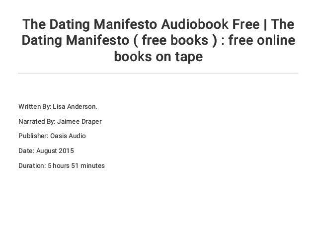 dating manifesto af lisa