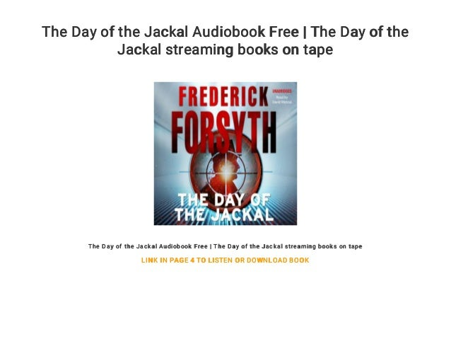 The day of the jackal pdf free download.