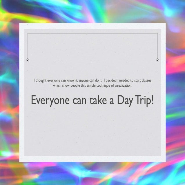 The Day Tripper draft