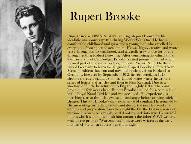 Robert Brooke Poems 5
