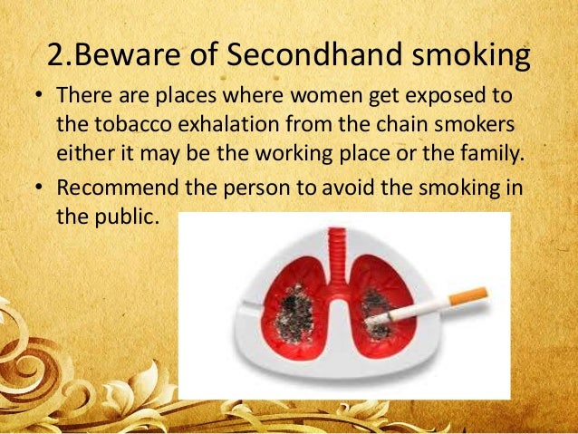 • These are the overview of lung cancer in women. • Either it is women or men proper precautions should be taken to avoid ...